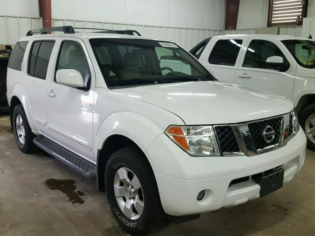 Nissan pathfinder 2007 available at the auction