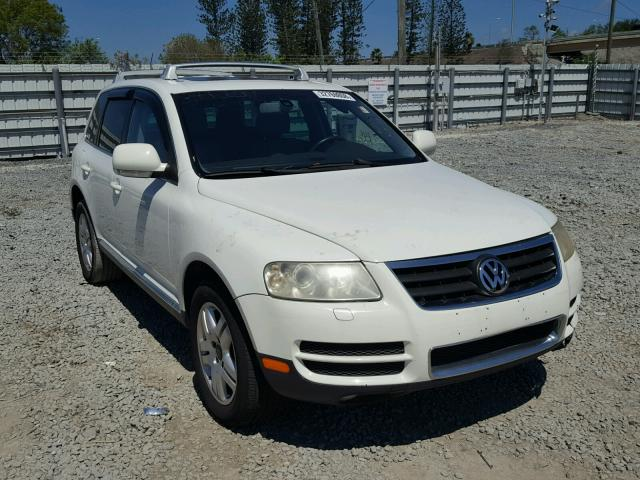 Volkswagen Touareg 2005 available at auction - IYCN