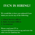 IYCN job vacancies