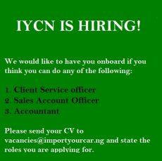 IYCN job vacancies
