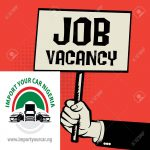 Import Your Car Job Vacancy